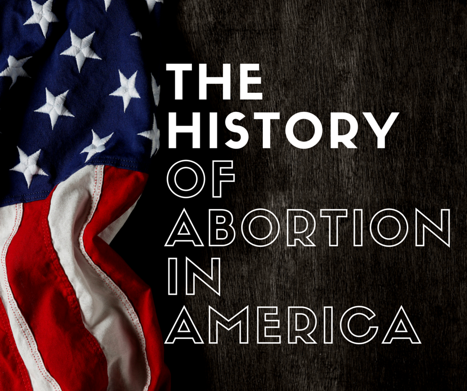the history of abortion in america